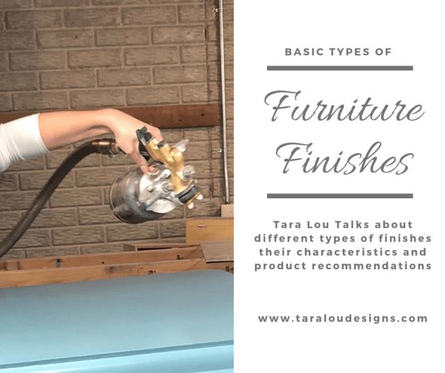 spraying furniture