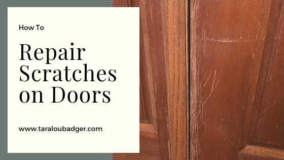 Repairing Scratches on Wood Doors