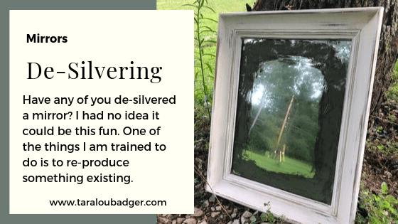 De-Silvered Mirror