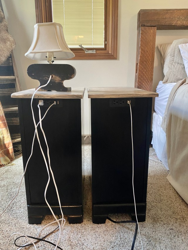 electrical for night stands