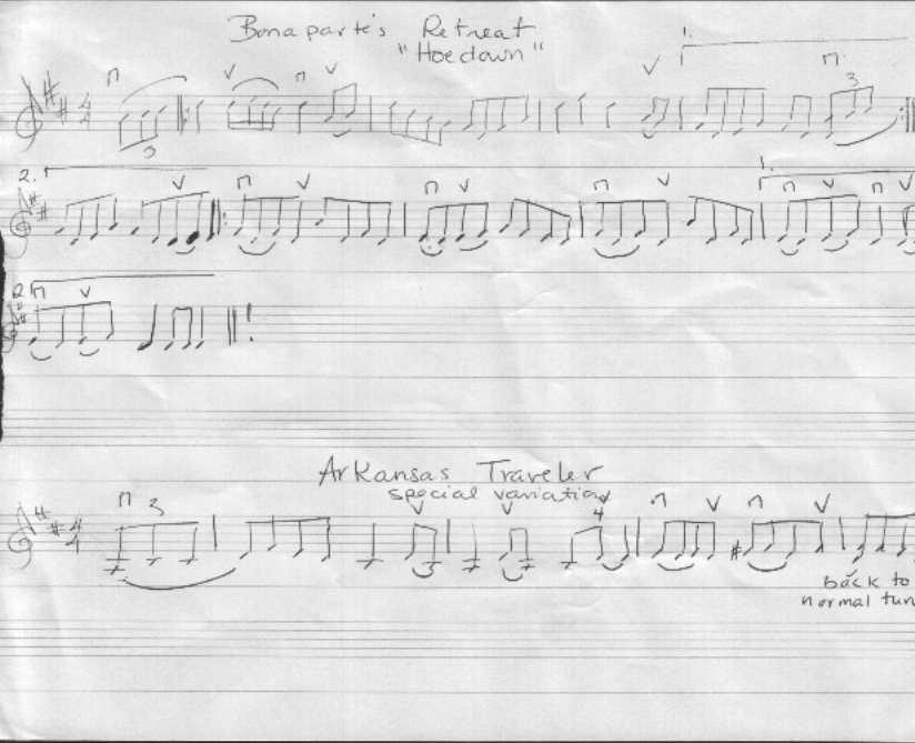Taransay Fiddle Camp Sheet Music