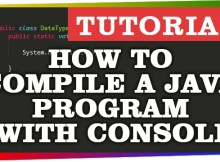 Compile-java-with-console