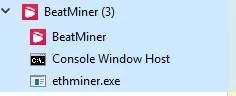 beat miner system process