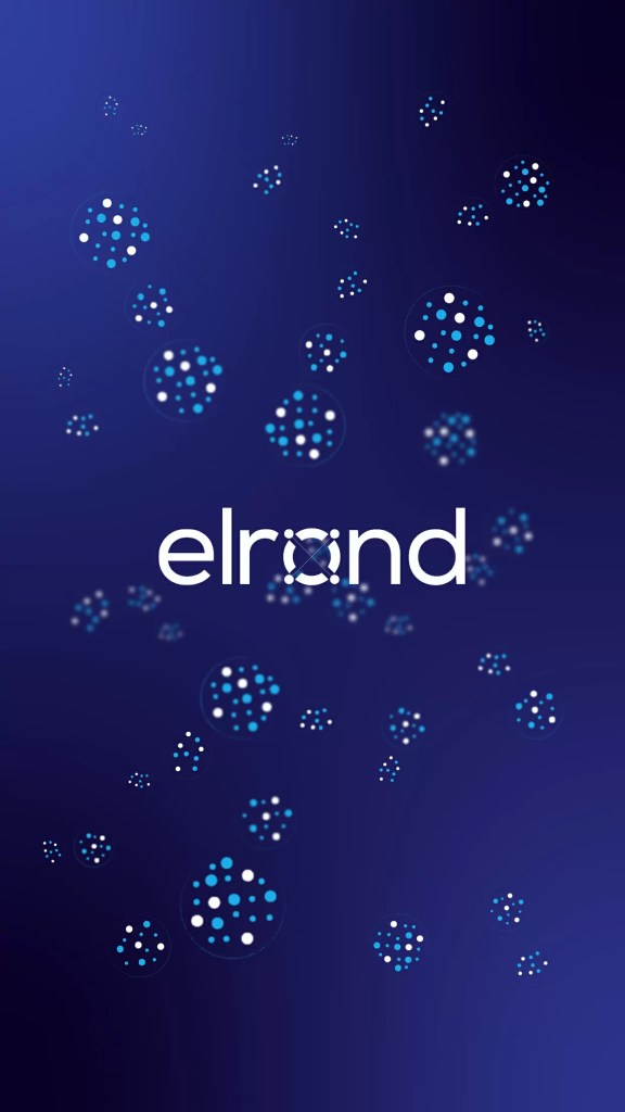 Elrond community mobile wallpaper - 2436x1125 resolution.
