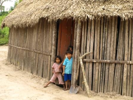 Traditional home Alto Mayo Peru