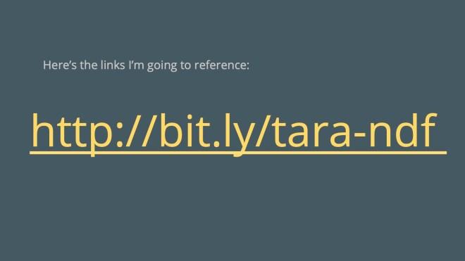 bit.ly/tara-ndf