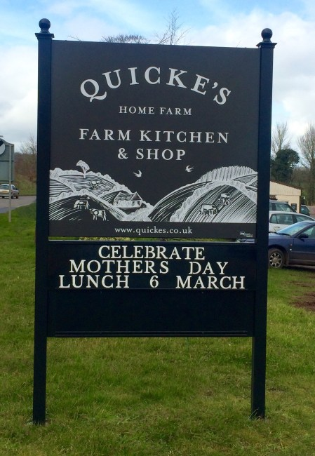 An afternoon at Quickes Farm