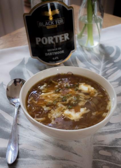 Black Tor Porter Onion Soup