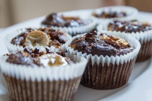 Banana and Granola Breakfast Muffins