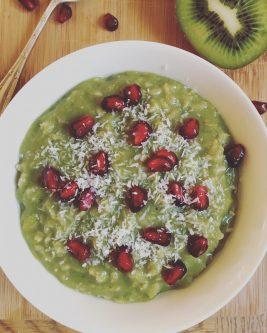 Matcha Green Tea Porridge