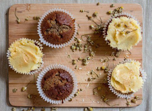 Indigo Herbs Chamomile cupcakes