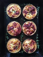 Beetroot and Feta Tarts