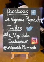 Le Vignoble, Plymouth