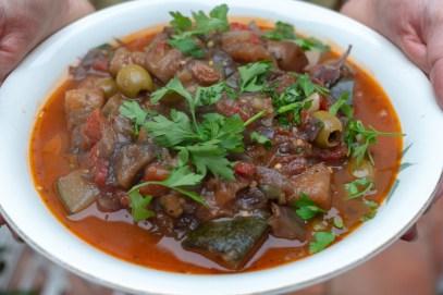 My Sicilian Caponata - Aubergine Stew