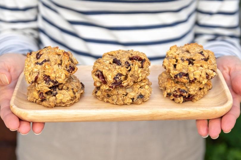 Cranberry & Oat Breakfast Cookies