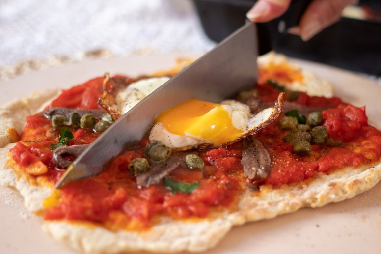 Flatbread Frying Pan Pizzas