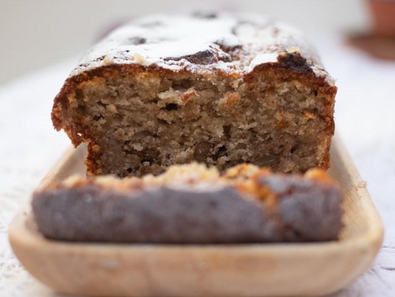 Store Cupboard Baking - Banana, Chocolate & Walnut Bread