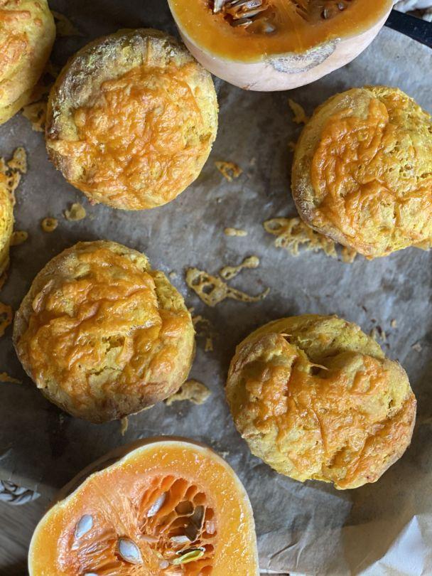 Cheesy Pumpkin Scones