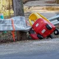 いったいどれだけのスピード出してたんだ、この運転手は・・・
