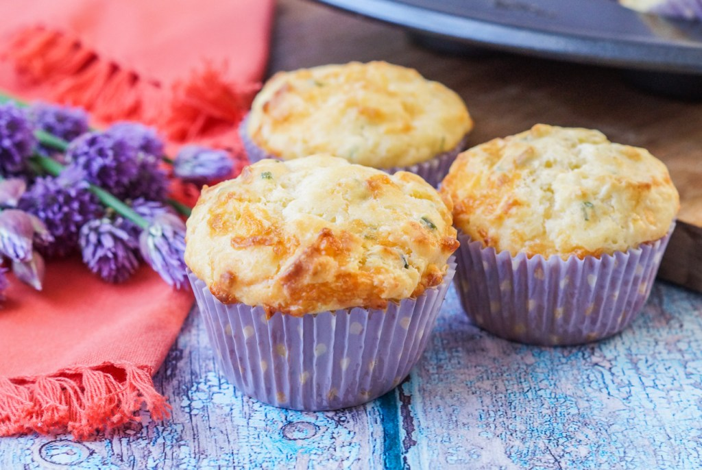 Cheddar Chive Muffins