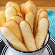 Langues de Chat (French Cat Tongue Cookies)