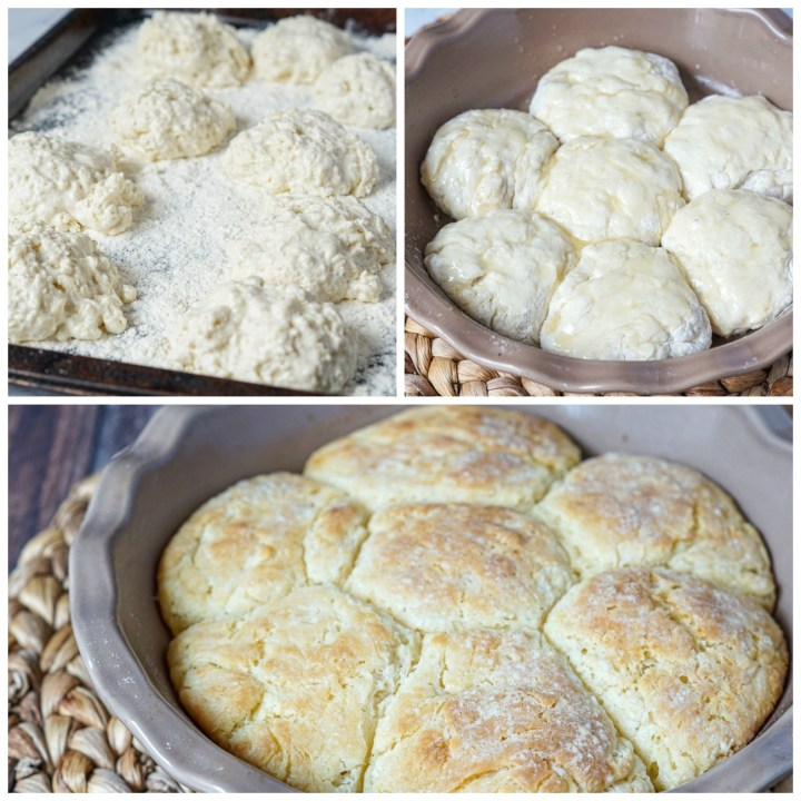 Making of Buttermilk Drop Biscuits