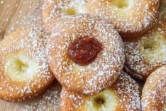 Farsangi Fánk (Hungarian Ribbon Doughnuts)