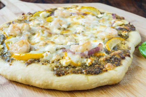shrimp pesto pizza (2 of 3)