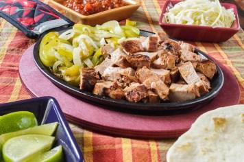 Grilled Pork Tenderloin Fajitas