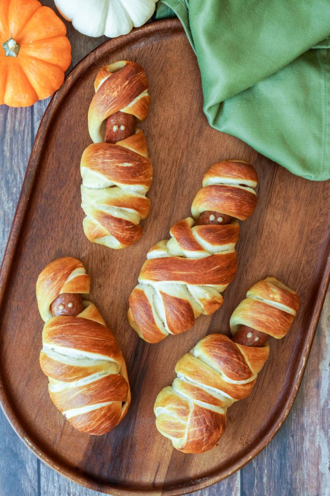 Mummy Pretzel Dogs