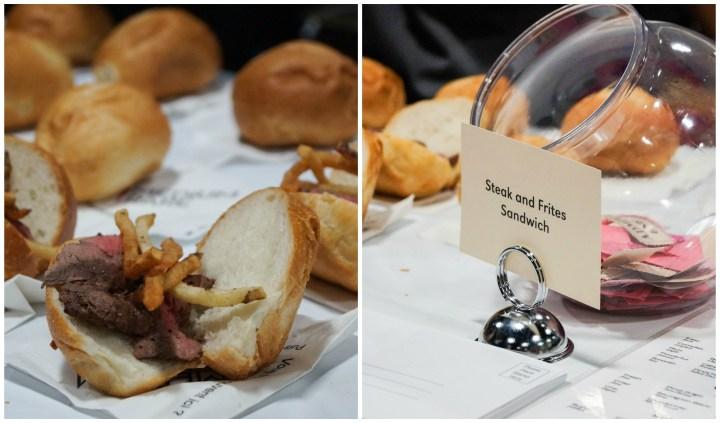 Steak and Frites Sandwich from Medium Rare.