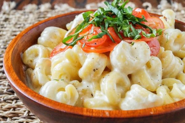 Caprese Macaroni and Cheese (2 of 3)