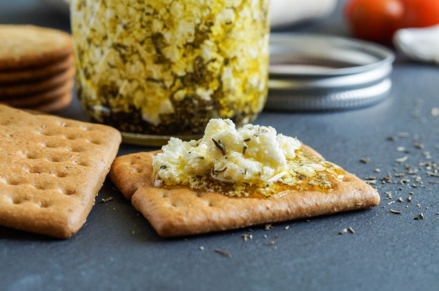 Marinated Goat Cheese (2 of 3)