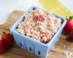 Risotto alla Fragola (Italian Strawberry Risotto)
