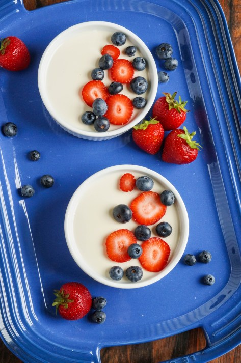 Panna Cotta with Berries (2 of 3)