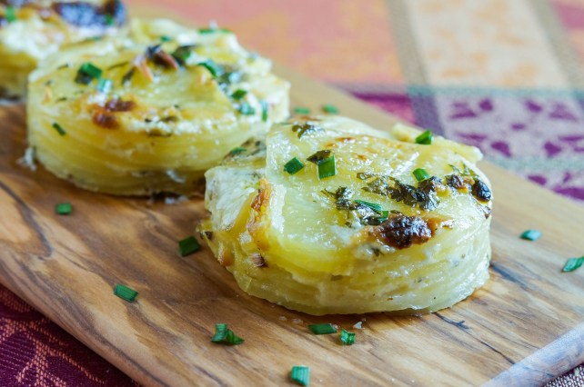 Garlic and Herb Potato Gratin (2 of 3)