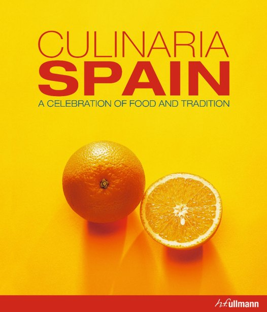 Cookbook Cover- Culinaria Spain: A Celebration of Food and Tradition, H.F. Ullmann.