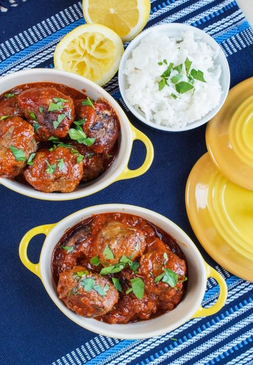 Albondigas al Buyor (Greek-Jewish Meatballs in a Sweet-and-Sour Sauce) (2 of 3)