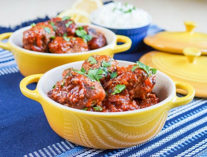 Albondigas al Buyor (Greek-Jewish Meatballs in a Sweet-and-Sour Sauce) (3 of 3)
