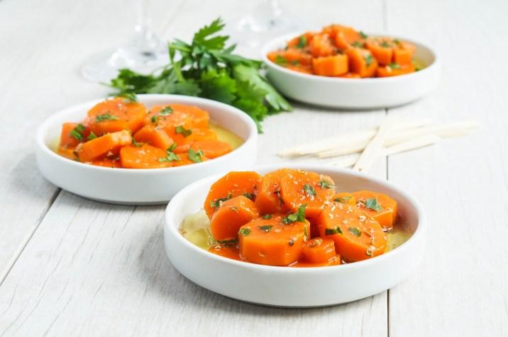 Zanahorias Aliñadas- Spanish Marinated Carrots