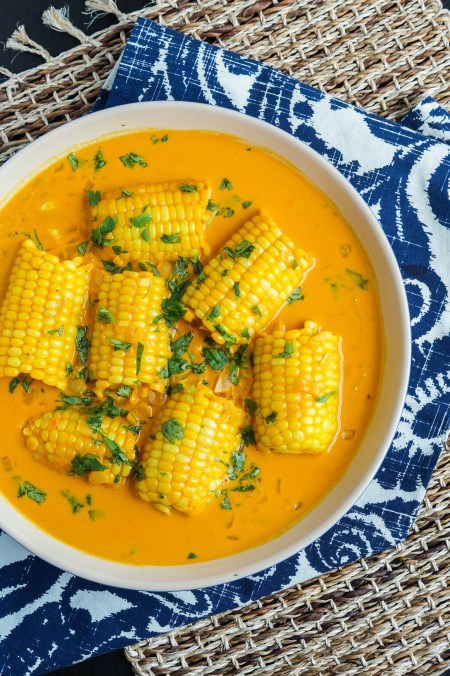 Galey iyo Qumbo (Somali Corn in Coconut Sauce) (1 of 3)