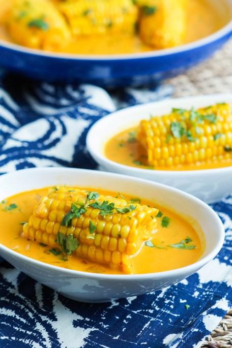 Galey iyo Qumbo (Somali Corn in Coconut Sauce) (2 of 3)