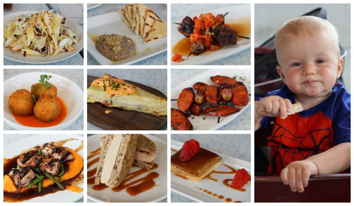 Collection of tapas at Mediterraneo