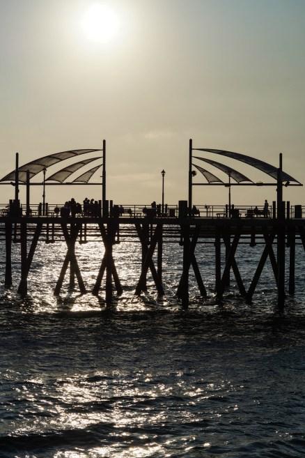 Sunset at Redondo Beach Pier