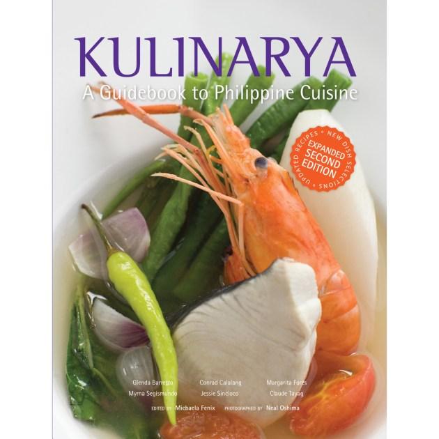 Cookbook cover- Kulinarya: A Guidebook to Philippine Cuisine.