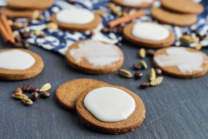 Coffee-Cardamom Cookies