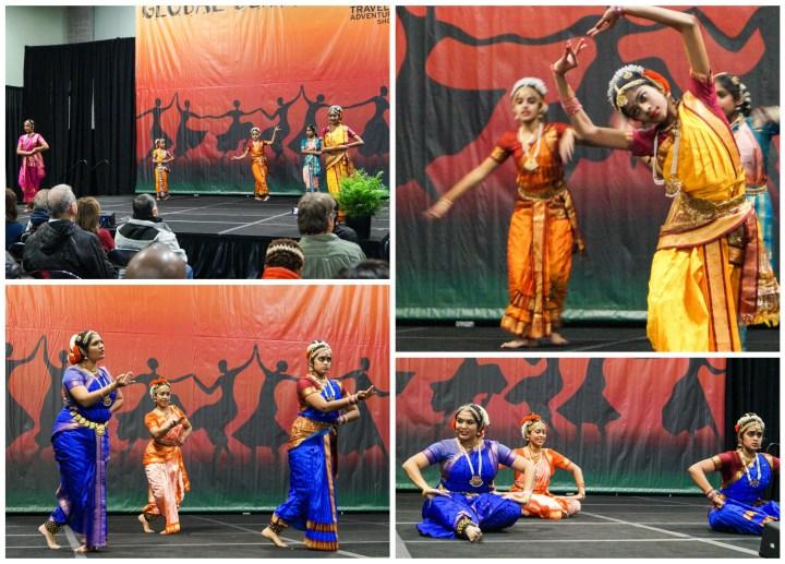Classical Indian Dance from Pranava Natyam School of Dance