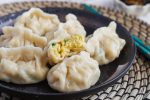Spinach and Egg Dumplings