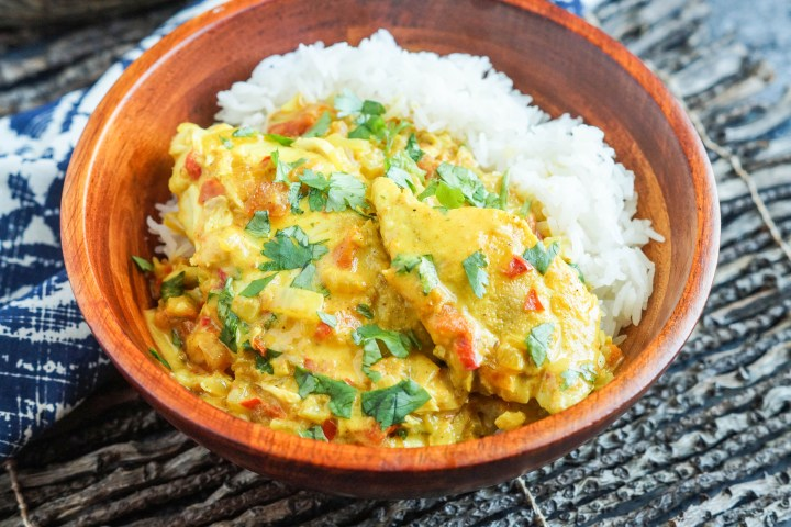 Fish Suruwa (Fijian Fish Curry)
