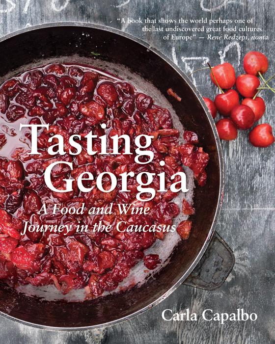Tasting Georgia Cookbook Cover